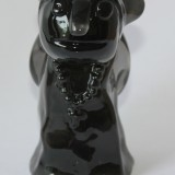 La nonne translucide vernie noire