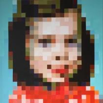 Autoportrait au pixel