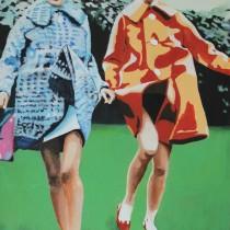 Femmes au manteau