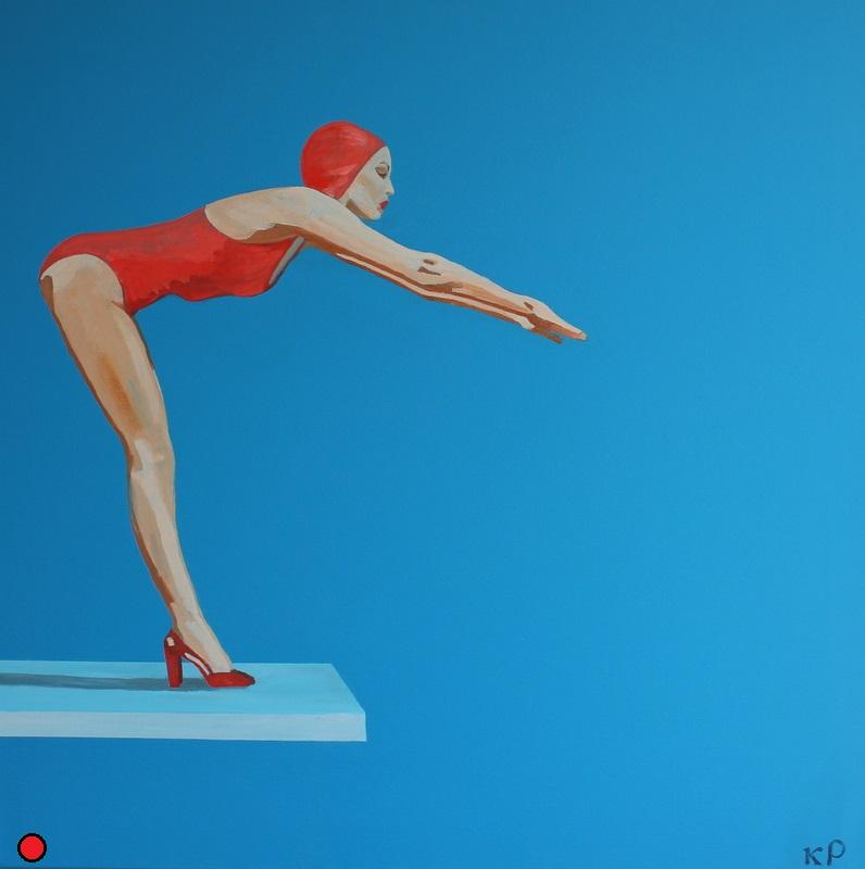 La piscine travaux caroline grimal artiste peintre for Piscine acrylique