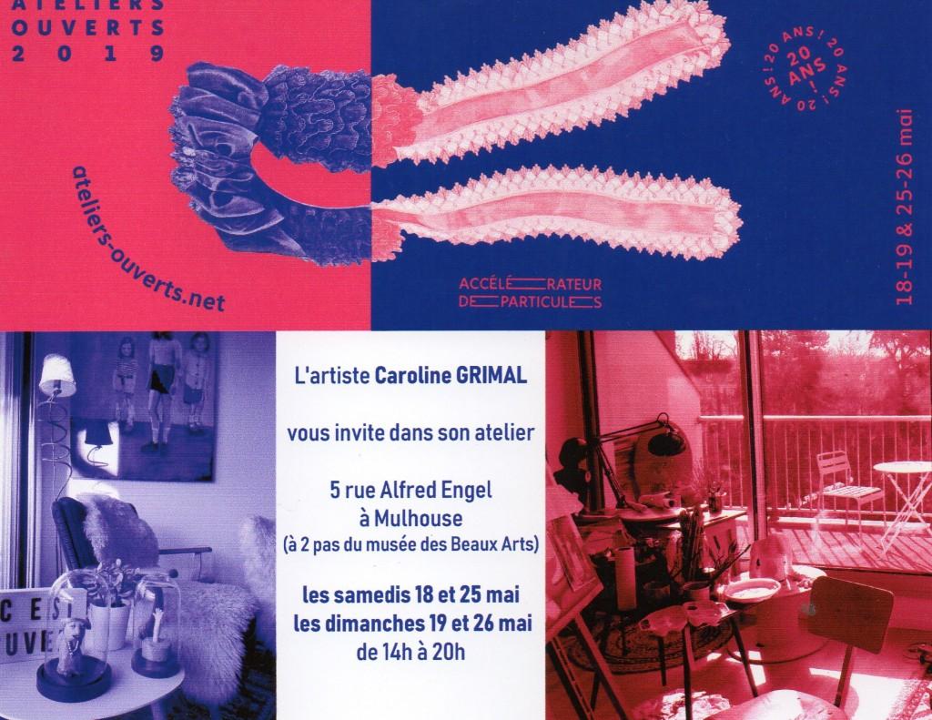 Atelier ouvert 2019 Caroline Grimal